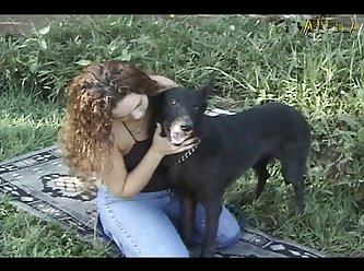 Black Dog Loves To Lick And Fuck (part 1)