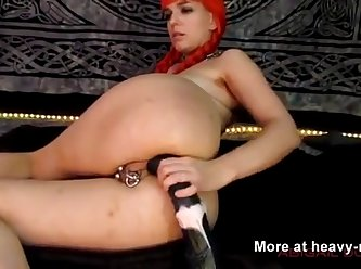 Dildoing Horse Cock XXX