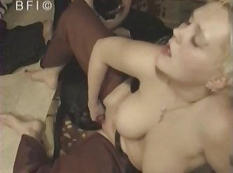 Dog Sex Horny Wife Passionate Threesome