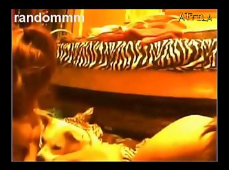 Random Dog Two Lesbians Play Wth Dog On Cam (part 5)